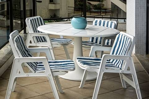 You can get comfortable condo and apartment balcony chairs on a budget.
