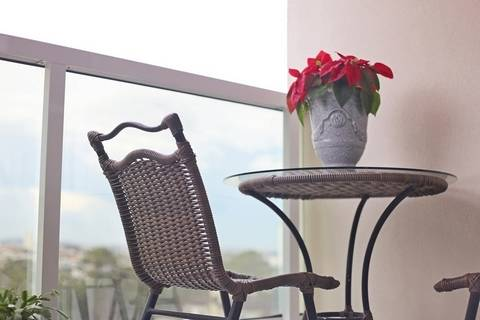 You can get matching balcony tables for your apartment or condo on a budget.